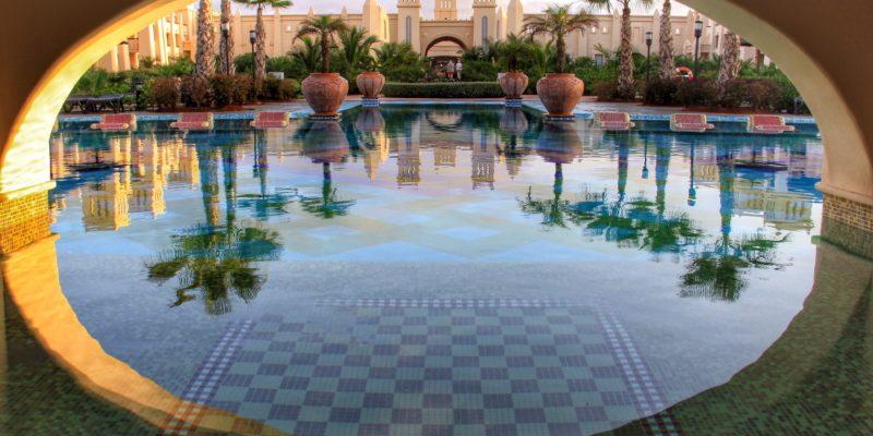 hotel pool photograph