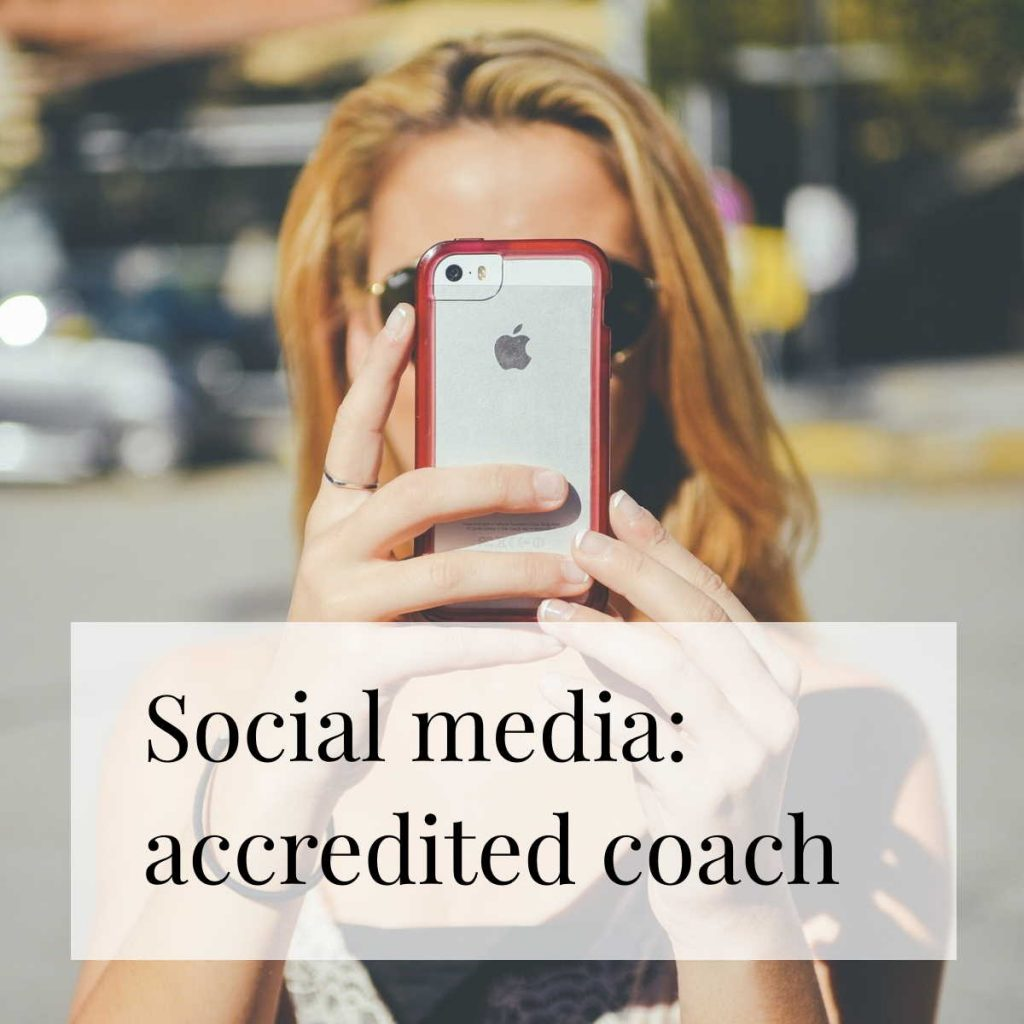 Social media & Facebook ads for an accredited coach