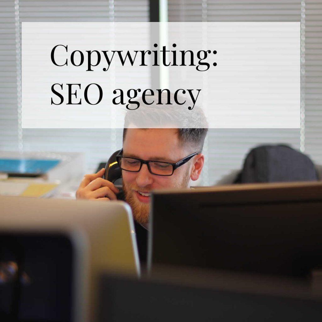 Copywriting for SEO agency