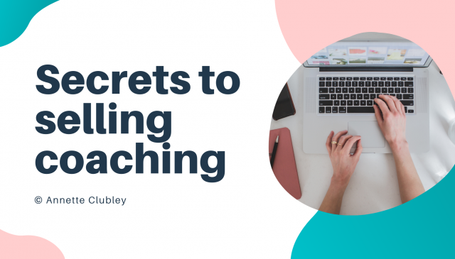 Secrets to selling coaching cover